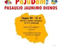 Kvietimas jaunimui į PASAULIO JAUNIMO DIENAS Krokuvoje, PaJuDam!