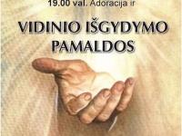 Kvietimas į vidinio išgydymo pamaldas ir Velykinę išpažintį