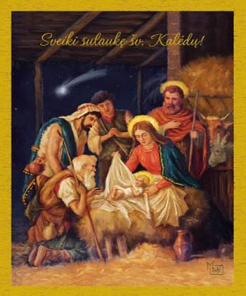 Klebono sveikinimas Šv. Kalėdų proga