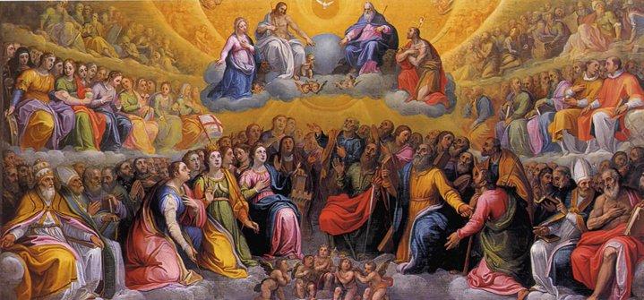 Visų Šventųjų iškilmė ir Vėlinės